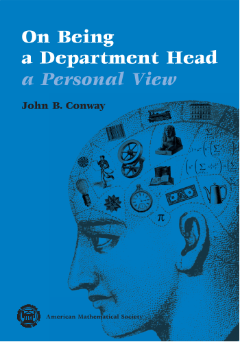 On Being a Department Head, a Personal View cover image