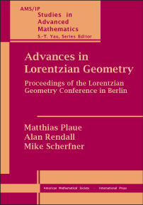 Advances in Lorentzian Geometry: Proceedings of the Lorentzian Geometry Conference in Berlin cover image
