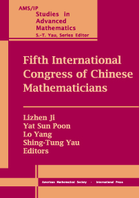 Fifth International Congress of Chinese Mathematicians cover image