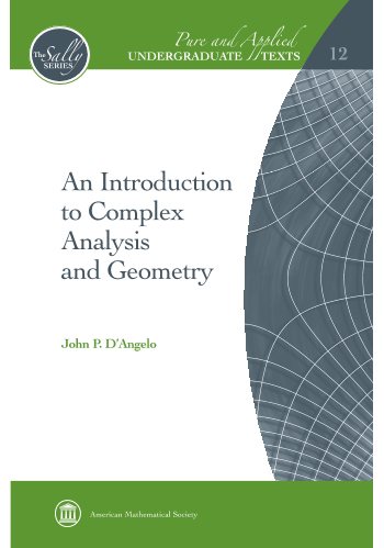 An Introduction to Complex Analysis and Geometry cover image