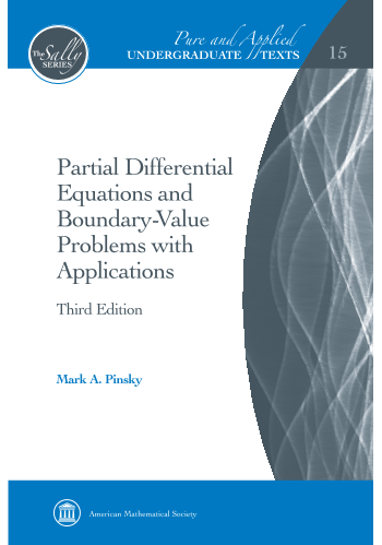 Partial Differential Equations and Boundary-Value Problems with Applications: Third Edition cover image