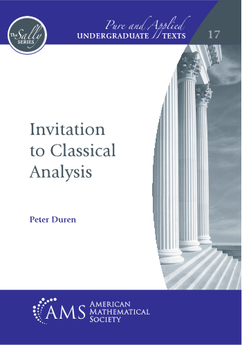 Invitation to Classical Analysis cover image