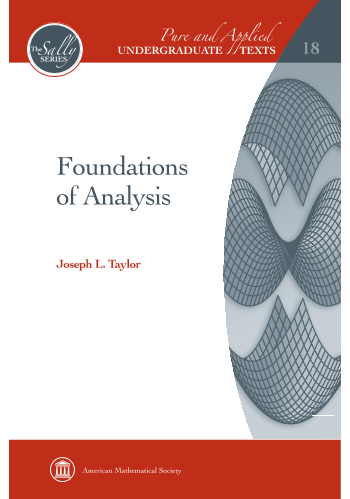 Foundations of Analysis cover image