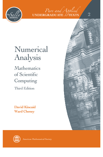 Numerical Analysis: Mathematics of Scientific Computing, Third Edition cover image