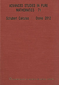 Schubert Calculus -- Osaka 2012 cover image