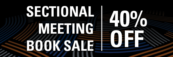 Spring Sectional Book Sale banner