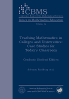 Teaching Mathematics in Colleges and Universities: Case Studies for Today's Classroom