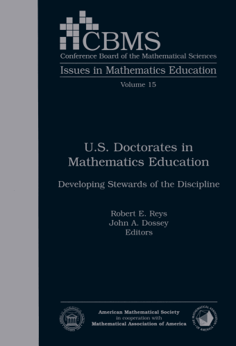 U.S. Doctorates in Mathematics Education: Developing Stewards of the Discipline cover image