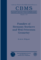 Families of Riemann Surfaces and Weil-Petersson Geometry