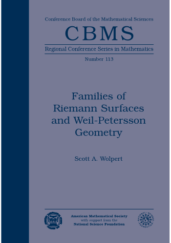 Families of Riemann Surfaces and Weil-Petersson Geometry cover image