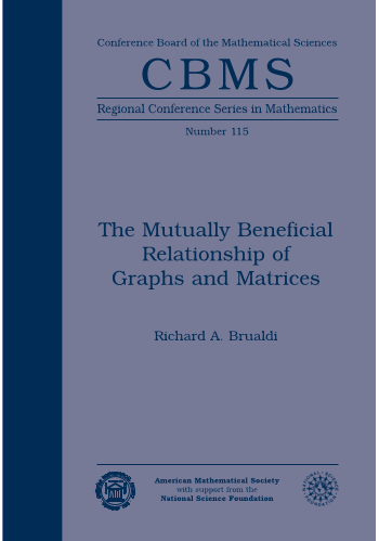 The Mutually Beneficial Relationship of Graphs and Matrices cover image