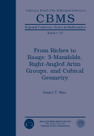 From Riches to Raags: 3-Manifolds, Right-Angled Artin Groups, and Cubical Geometry