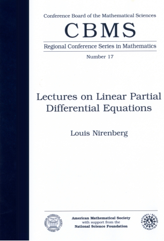 Lectures on Linear Partial Differential Equations cover image