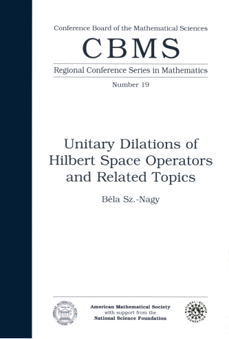 Unitary Dilations of Hilbert Space Operators and Related Topics cover image