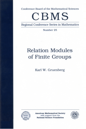 Relation Modules of Finite Groups cover image