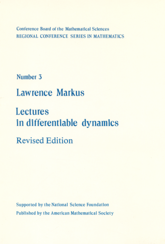 Lectures in Differentiable Dynamics cover image