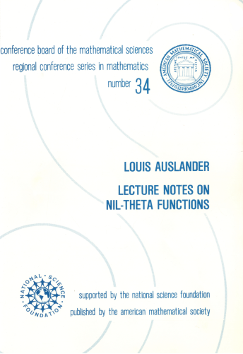 Lecture Notes on Nil-Theta Functions cover image