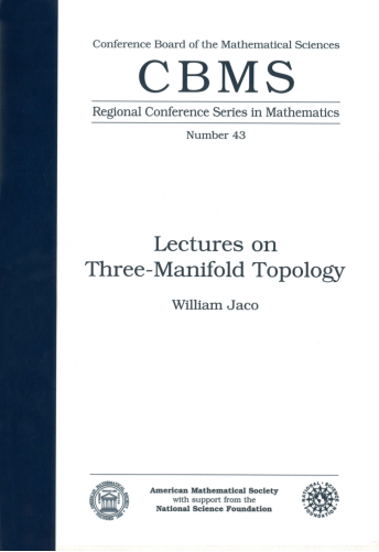 Lectures on Three-Manifold Topology cover image