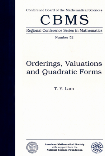 Orderings, Valuations and Quadratic Forms cover image