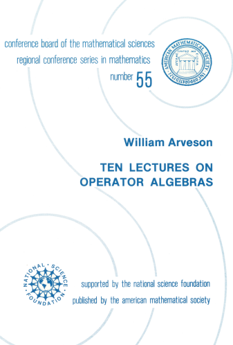 Ten Lectures on Operator Algebras cover image
