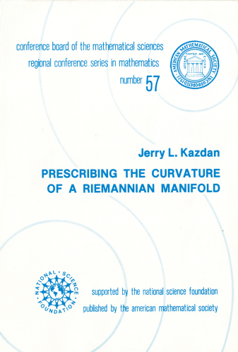 Prescribing the Curvature of a Riemannian Manifold cover image