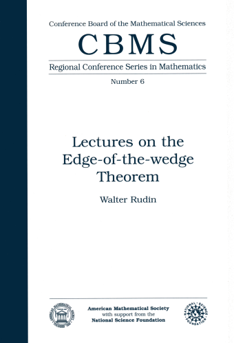Lectures on the Edge-of-the-Wedge Theorem cover image