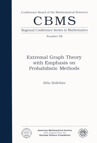 Extremal Graph Theory with Emphasis on Probabilistic Methods cover image