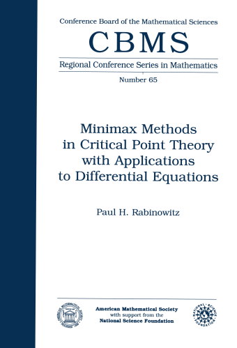 Minimax Methods in Critical Point Theory with Applications to Differential Equations cover image
