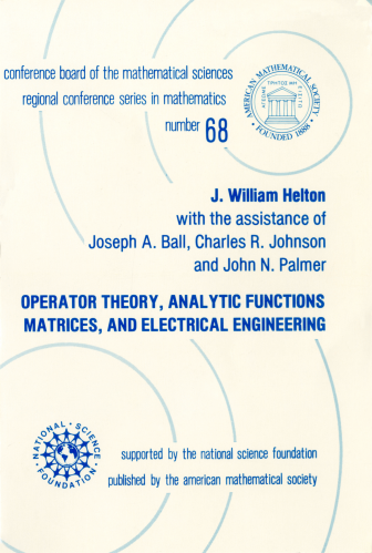 Operator Theory, Analytic Functions, Matrices, and Electrical Engineering cover image