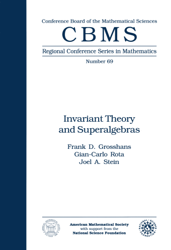 Invariant Theory and Superalgebras cover image