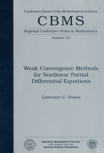 Weak Convergence Methods for Nonlinear Partial Differential Equations cover image
