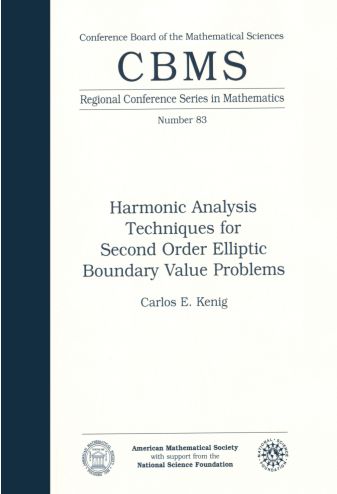 Harmonic Analysis Techniques for Second Order Elliptic Boundary Value Problems cover image