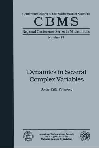 Dynamics in Several Complex Variables cover image