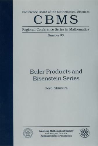 Euler Products and Eisenstein Series cover image