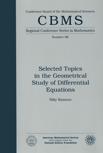Selected Topics in the Geometrical Study of Differential Equations cover image
