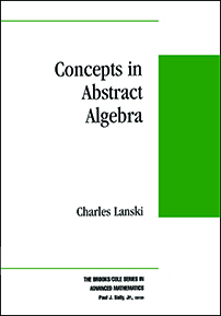 Concepts in Abstract Algebra cover image