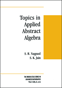 Topics in Applied Abstract Algebra cover image