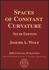 Spaces of Constant Curvature: Sixth Edition cover image