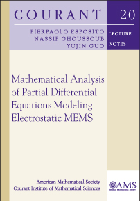 Mathematical Analysis of Partial Differential Equations Modeling Electrostatic MEMS cover image