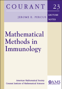 Mathematical Methods in Immunology cover image