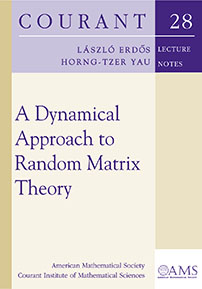 A Dynamical Approach to Random Matrix Theory cover image