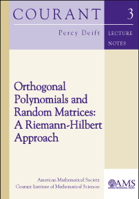 Orthogonal Polynomials and Random Matrices: A Riemann-Hilbert Approach cover image