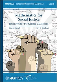 Mathematics for Social Justice: Resources for the College Classroom cover image