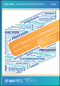 101 Careers in Mathematics: Fourth Edition cover image