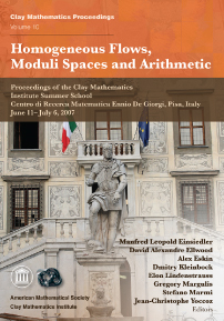 Homogeneous Flows, Moduli Spaces and Arithmetic cover image