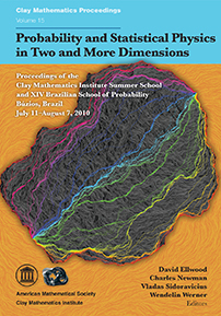 Probability and Statistical Physics in Two and More Dimensions cover image