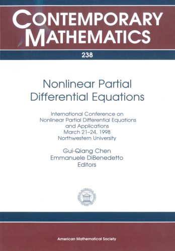 Nonlinear Partial Differential Equations cover image