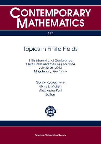 Topics in Finite Fields cover image