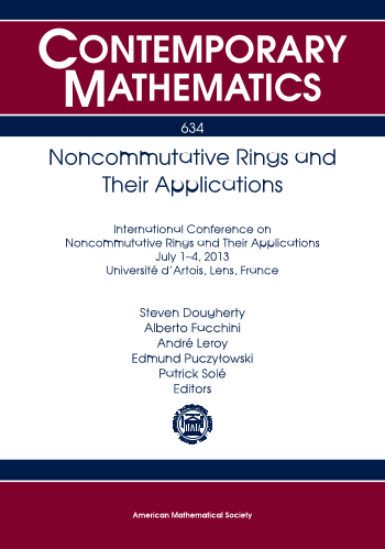 Noncommutative Rings and Their Applications cover image