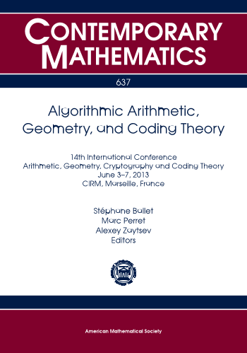 Algorithmic Arithmetic, Geometry, and Coding Theory cover image